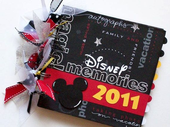 Autograph book ideas - I have heard to bring your own autograph book because the ones at the shops can be kind of pricey, plus it would be fun to make your own and get excited about the trip while making it. #Tangled2012 #Disney #OrlandoFL