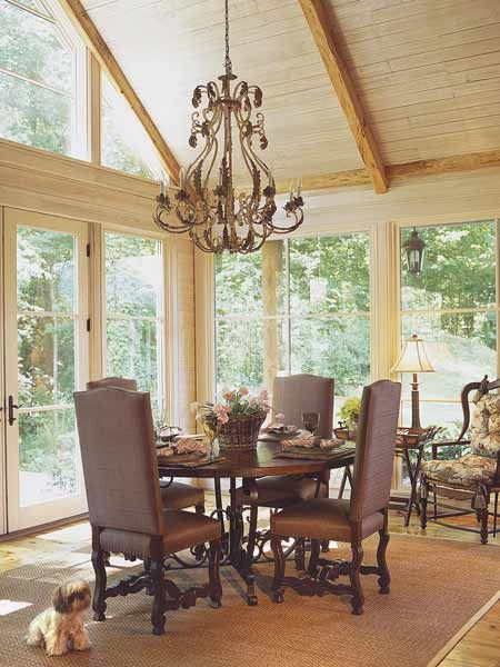 83 best victorian homes and decorating images on pinterest for Sunroom dining room ideas