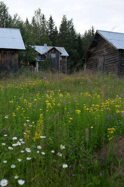 Dalarna,Sweden. Husen på Loberget VI by Gustaf_E, via Flickr