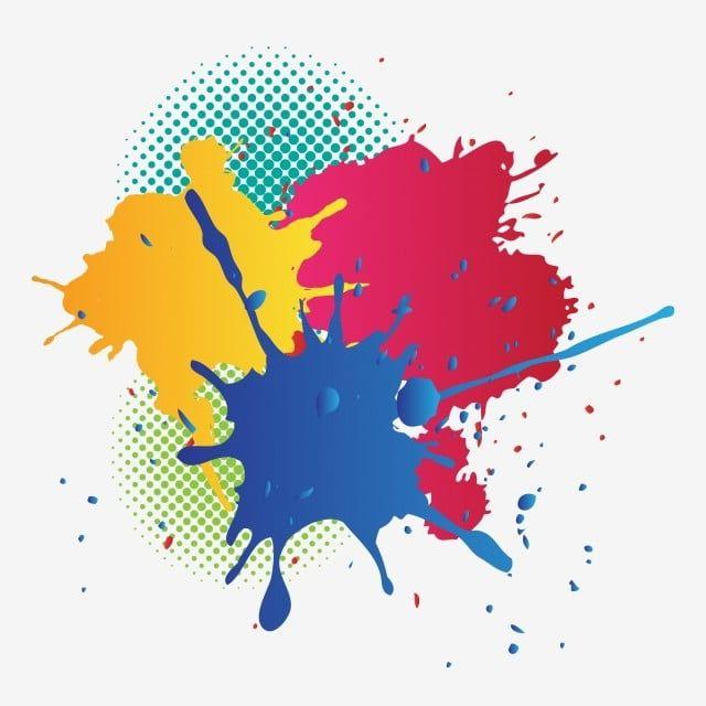 Paint Clipart Paint Splattered Color Canvas Painted Spot Paint Splattered Splattered Clipart Paint Splatter Art Splatter Art Watercolor Splash