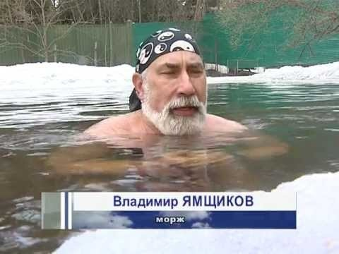 Benefits of winter swimming and hardening.
