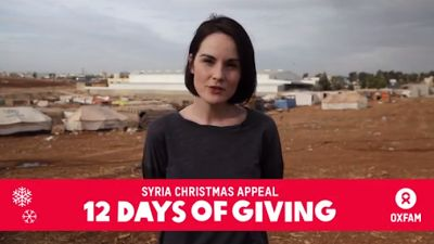Downton Abbey Addicts: Video: Downton Abbey's Michelle Dockery meets Syrian refugees in Jordan   Downton Abbey Addicts