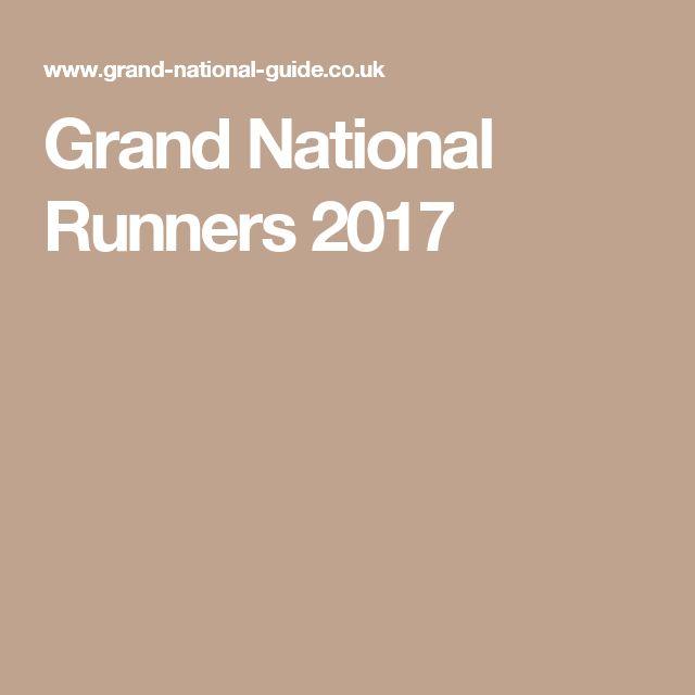 Grand National Runners 2017