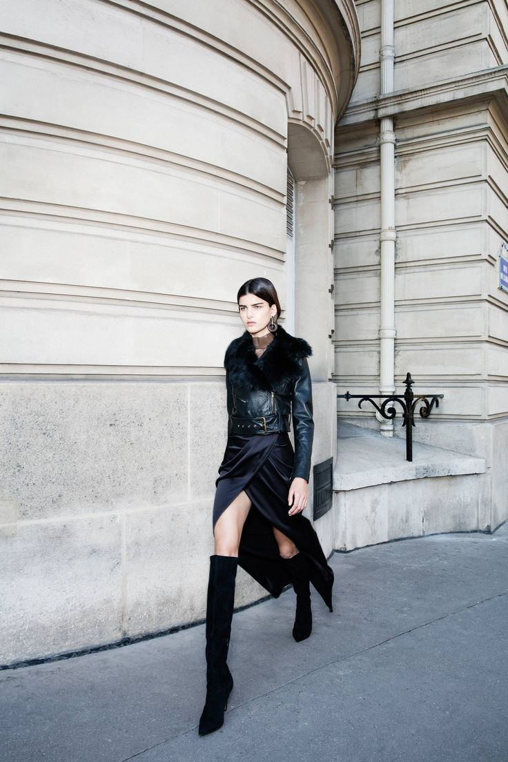CAMILLA AND MARC's Autumn/Winter 2016 collection photographed on the streets of Paris, France.