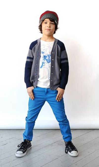 I know this is a preteen look, but my oldest little one would love these clothes.