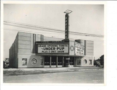 A take trip back in time in photos of old Flint movie theaters.