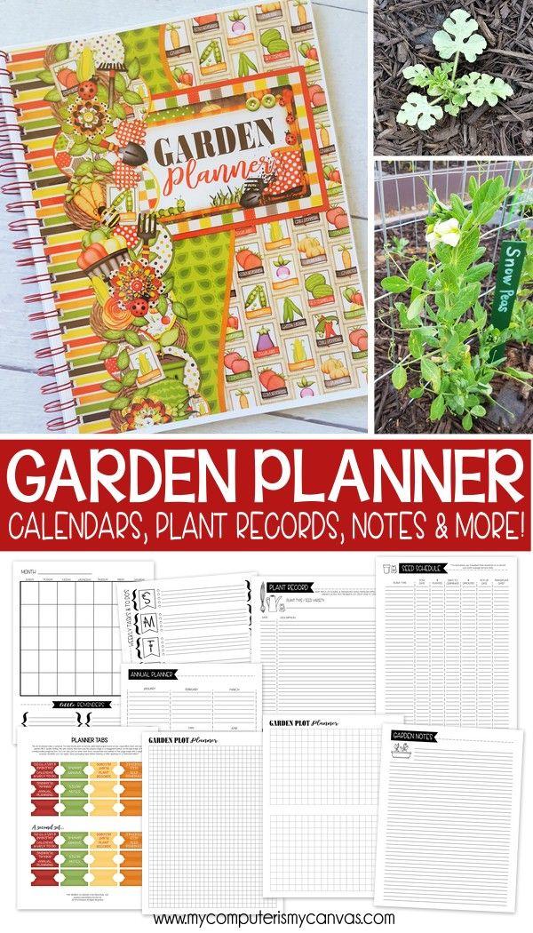 Garden Calendar Planner : Beautiful garden journal ideas on pinterest