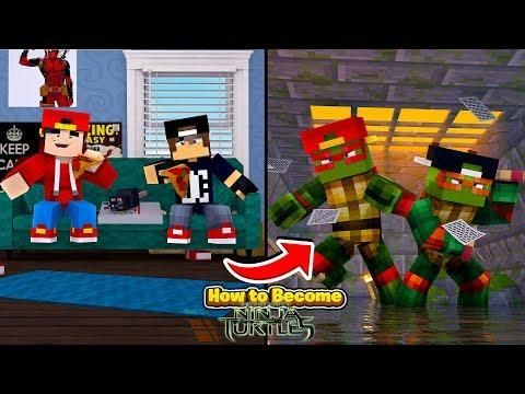 Minecraft Adventure How To Become Tmnt Top Video Minecraft