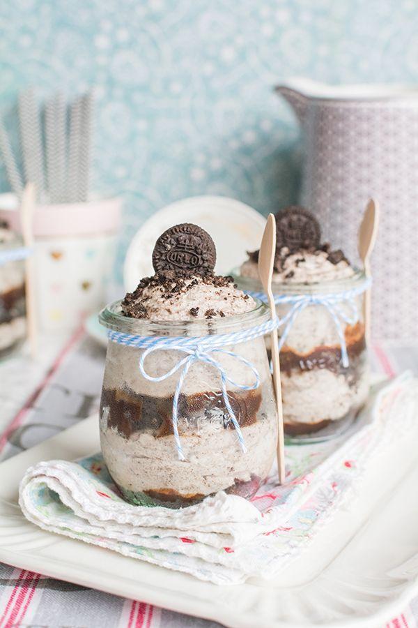 Vídeo-receta: crema de galletas Oreo® en vasito