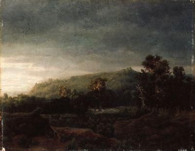 Lars Hertervig, «Skog»