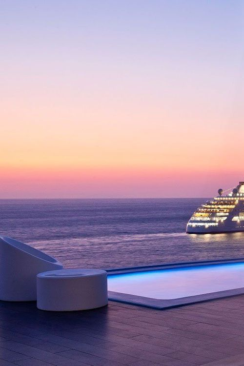Night Cruise in Mykonos, Greece