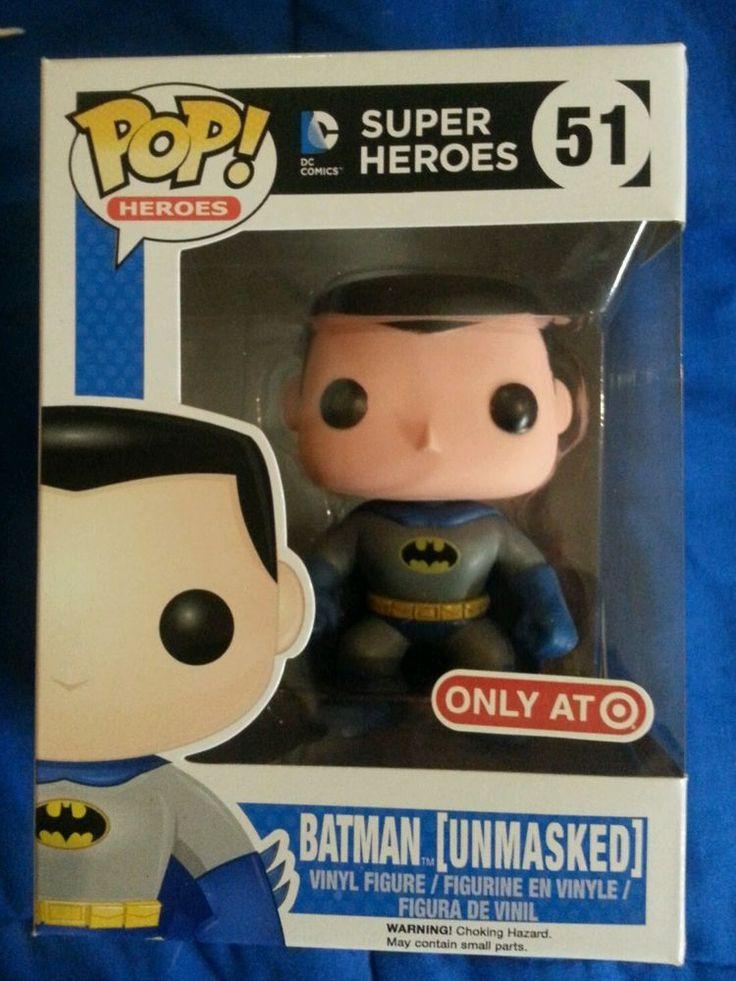 Funko Pop Batman Unmasked Target exclusive