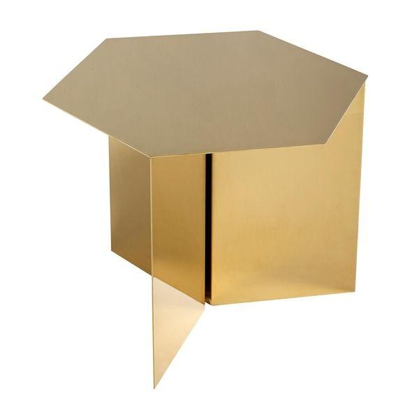 Hay Table Hexagon Beistelltisch Beistelltisch Sechseck Beistelltisch Metall