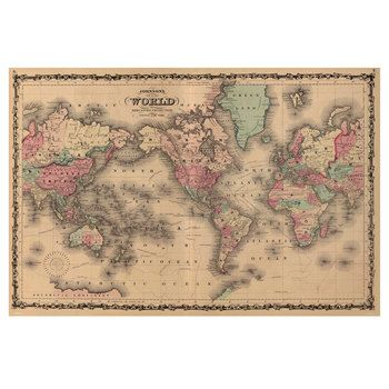 Unique Vintage World Maps Ideas On Pinterest Antique World - Hobby lobby us map