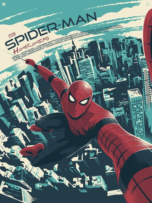 Spider-Man: Homecoming Poster - Created by Thomas Walker