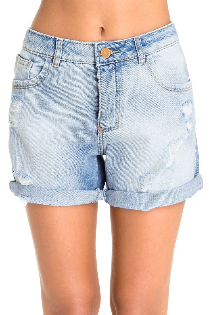 Bermuda denim boyfriend - Shorts | Dress to