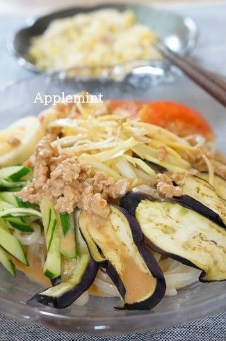 冷凍うどんで夏野菜のトマト豆乳クリーム冷やしうどん by アップル ...