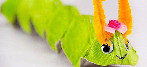 Δείτε πέντε όμορφες και εύκολες παιδικές κατασκευές με τα αγαπημένα τους ανοιξιάτικα έντομα!