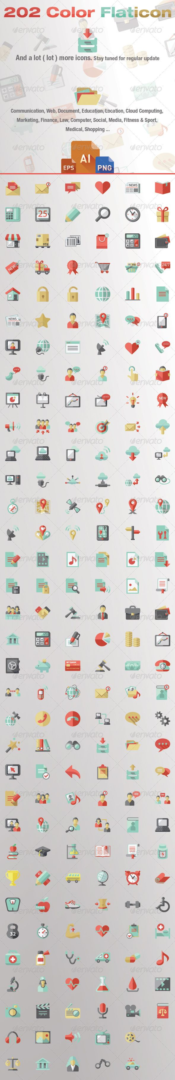 Color+Flat+Icon+Pack