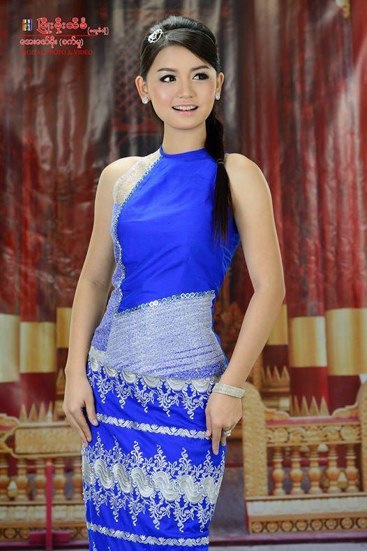 myanmar dress design 2015 - Google Search