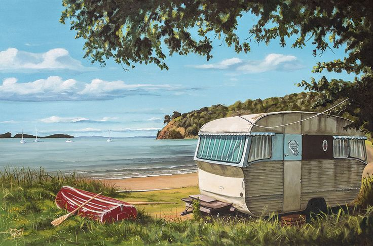Opahi Bay by Graham Young. Artprints available from www.imagevault.co.nz and…