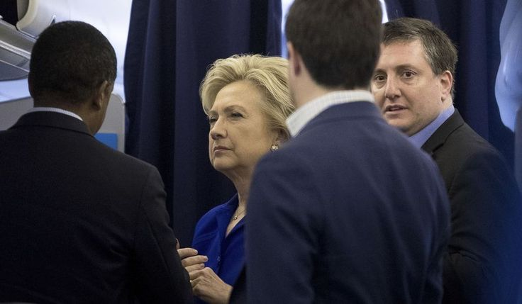 Philippe Reines (right) said attacks on Hillary Clinton's presidential campaign were misplaced and every other Democrat would have done worse against Donald Trump in the 2016 election. (Associated Press/File)