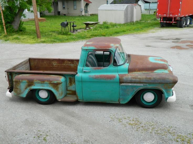 Old Chevy Trucks >> Chevrolet   Camionetas   Pinterest   Camioneta, Clasicos y Arte