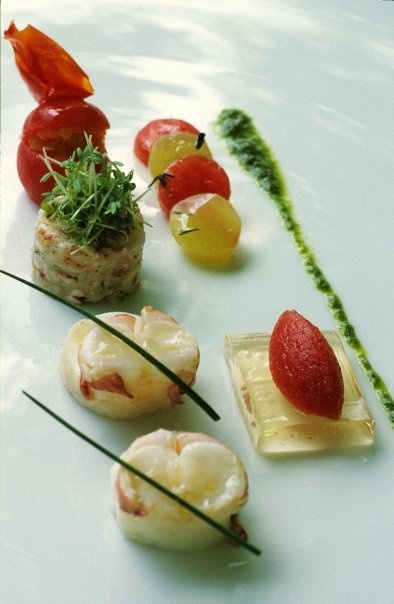 Food presentation.