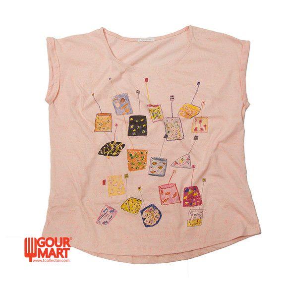 レディースFREEサイズ(4800円)カラー:ピンクコットン95%、ポリエステル5%TcollectorのTシャツ。柔らかくて着心地の良いボディー。いらっしゃ...|ハンドメイド、手作り、手仕事品の通販・販売・購入ならCreema。
