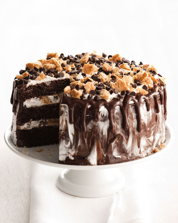 S'mores Cake - Horchow
