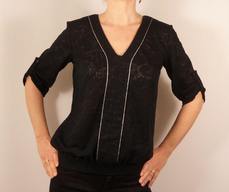Patron de couture Blouse Coquelicot // Histoire de Coudre  => Version SB Créations Couture