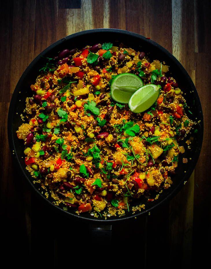Meksikolainen kvinoa- papupata
