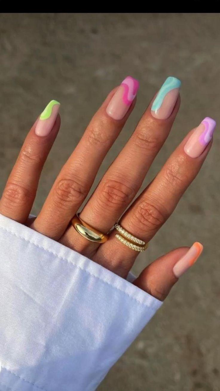 bright summer nails!: An immersive guide by Reagan Locke