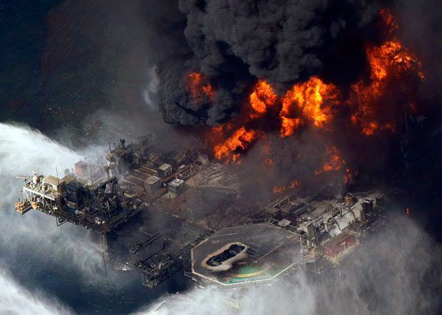 BP oil spill: 30 pictures of the Deepwater Horizon Gulf of Mexico disaster one   year ago.