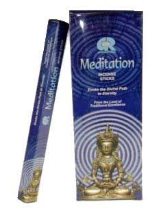 Wierook Meditation hexagram pak - 20 g - (6st.) - bijzonder