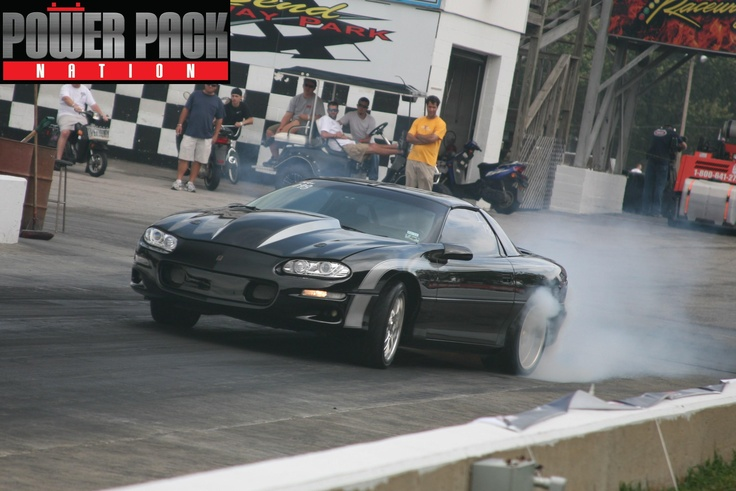 Warming up the tires at @Holley Performance #LSFest 2010