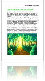 Selección de libros infantiles relacionados con los bosques