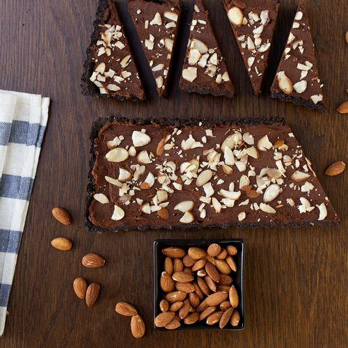 Chocolate Almond Espresso Tart | Yummy | Pinterest