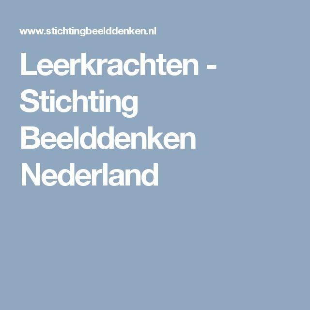 Leerkrachten - Stichting Beelddenken Nederland