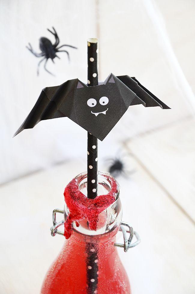 Halloween Bastelvorlagen kostenlos bei | Bastelvorlagen zum ...