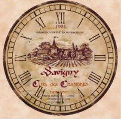 Decoupage para Relógio DR - 12 Ocro - Adesiva - Decoupage - Empório Janial