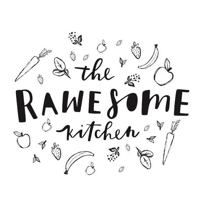 Logo design concepts for The Rawesome Kitchen by Renee Denaro  @sadiestreetdesignco
