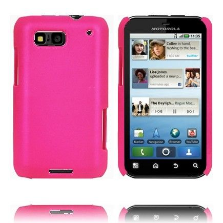 Hard Shell (Pink) Motorola Defy Cover