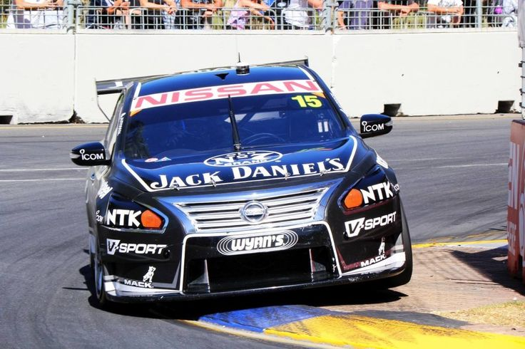 Rick Kelly in the #15 Nissan for Jack Daniels at Clipsal 500, Adelaide 2015