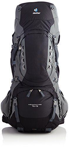 fcde7775f64 Deuter Aircontact Pro 70 15 Pack Black Titan One Size   Be sure to check  out this awesome product.