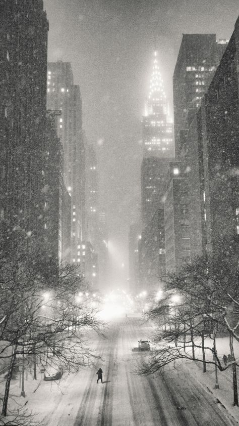 New York City Winter Speaking About These Ny Through The