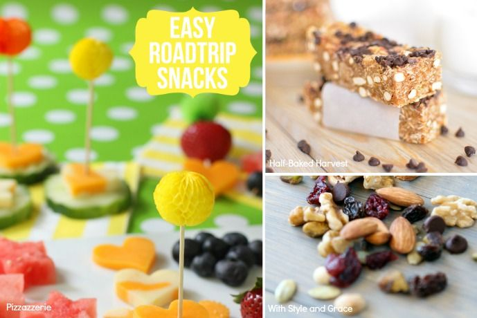 8 easy vacation snack recipes for kids (and you) that beat fast food fries on the road