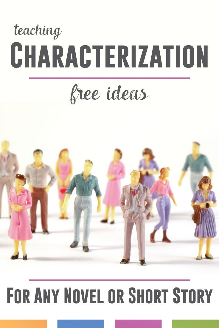 Teaching characterization - indirect and direct - with secondary students? Try these free ideas for understanding characters in any novel or short story.