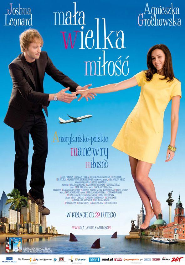 """Plakat do filmu """"Mała wielka miłość"""" w reżyserii Łukasza Karwowskiego. Projekt: Studio Zakład, www.zaklad.pl"""