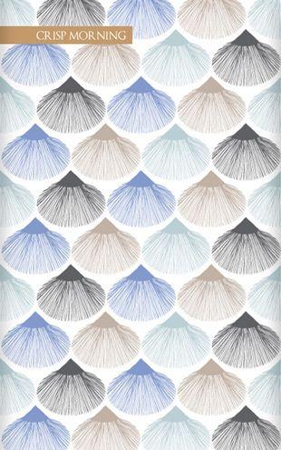 壁紙サンプル(A4サイズ):Wallpaper Republic Parasols / WR0341PPC-CRM (crispmorning)